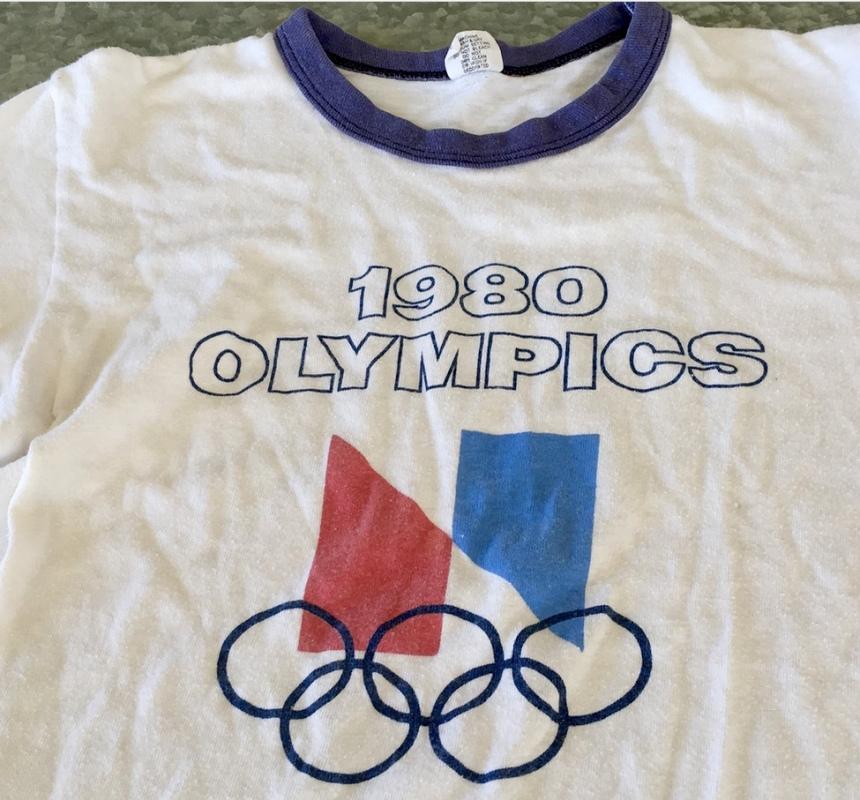 1980 OLYMPICS TSHIRT