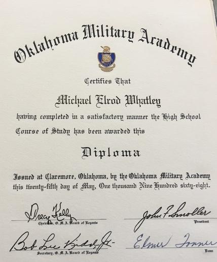OMA Diploma