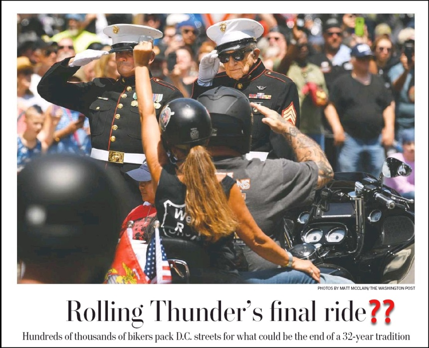 washPost Rolling Thunder front page Edited w ?