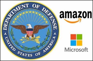 DoD Amazon Microsoft
